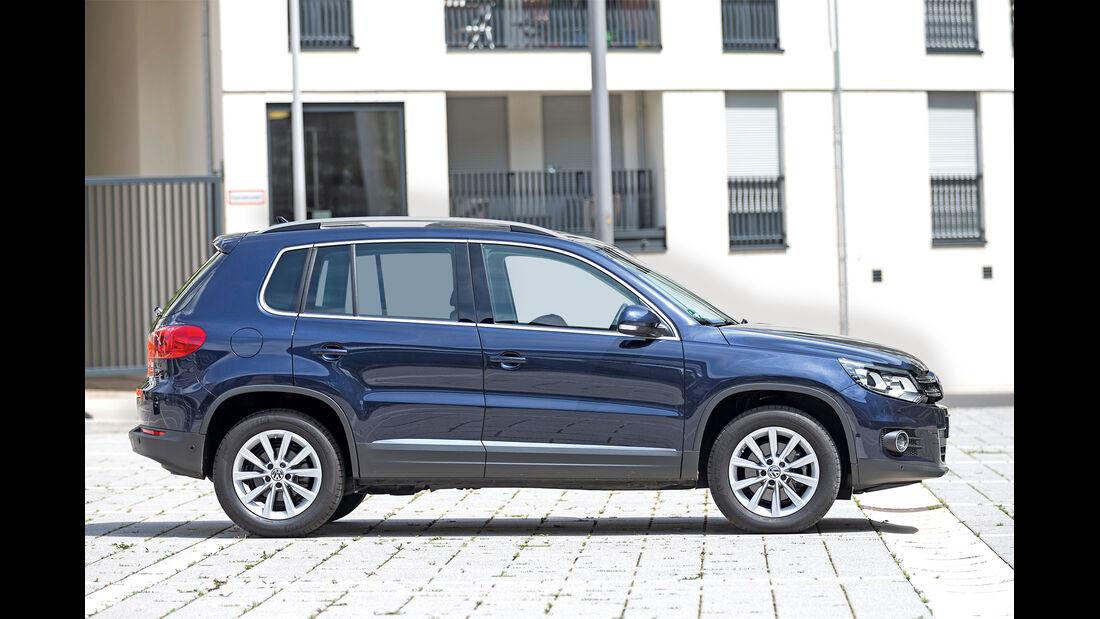 VW Tiguan 2.0 TDI BMT, Seitenansicht