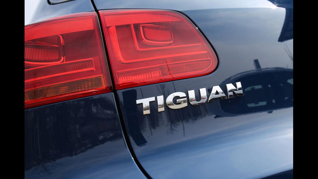 VW Tiguan 2.0 TDI BMT, Typenbezeichnung