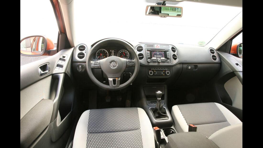 VW Tiguan 2.0 TDI Blue Motion Technology, Cockpit