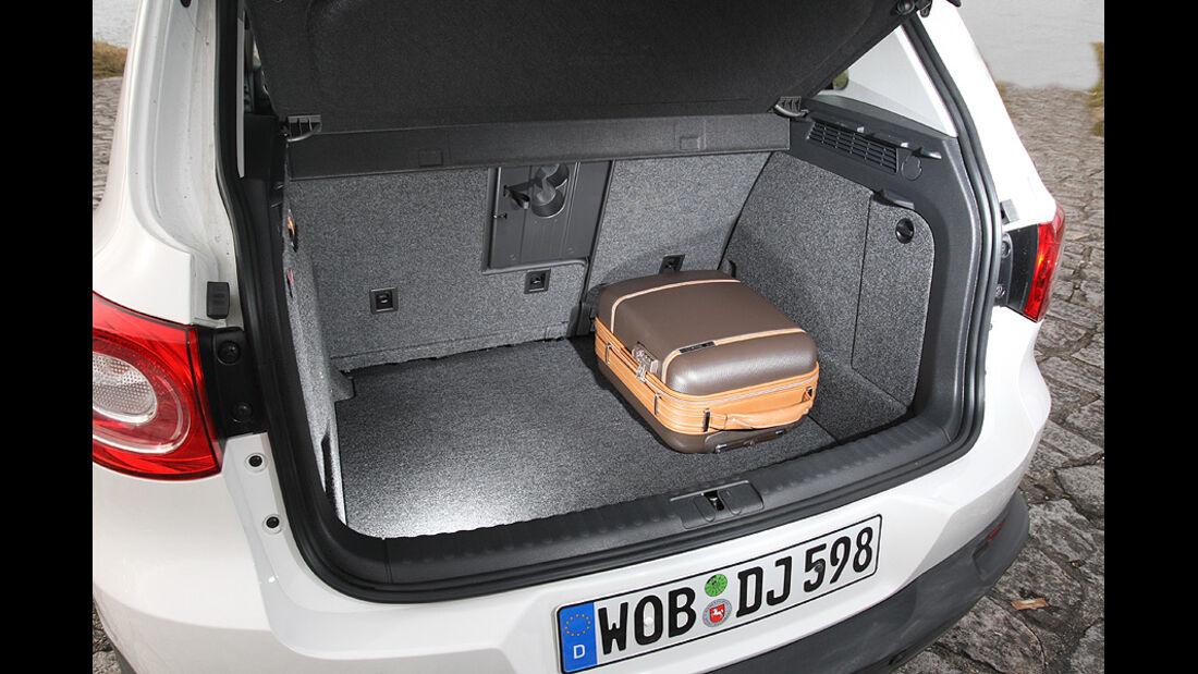 VW Tiguan 2.0 TDI CR Trend & Fun Kofferraum
