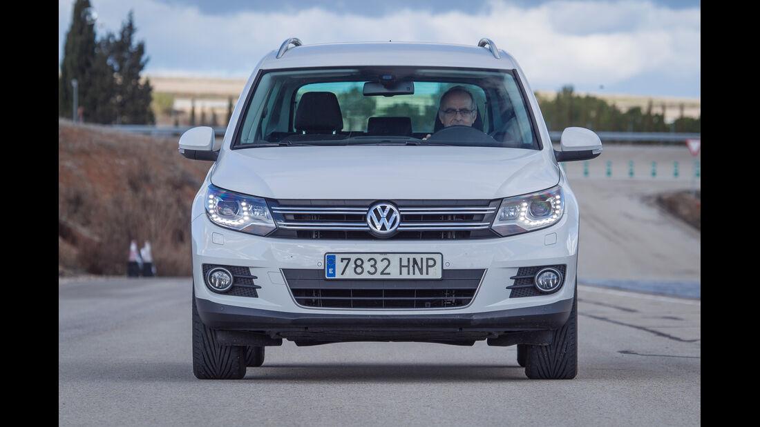 VW Tiguan 2.0 TDI, Frontansicht
