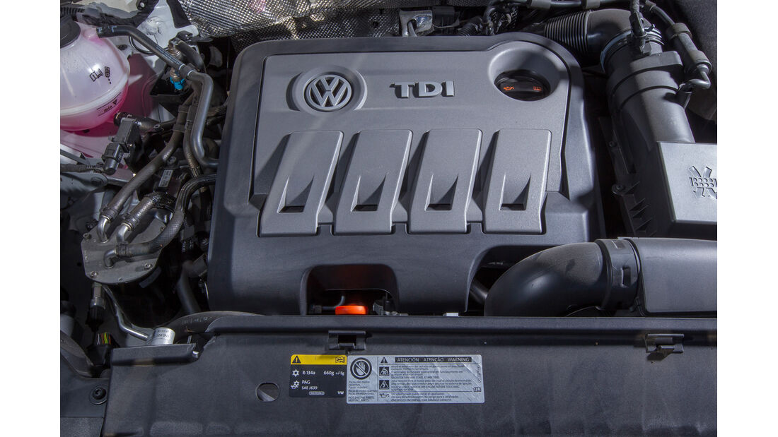 VW Tiguan 2.0 TDI, Motor