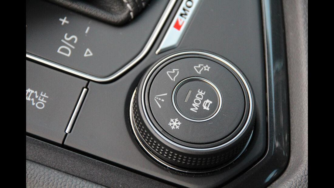 VW Tiguan 2.0 TDI SCR 4Motion, Bedienelement
