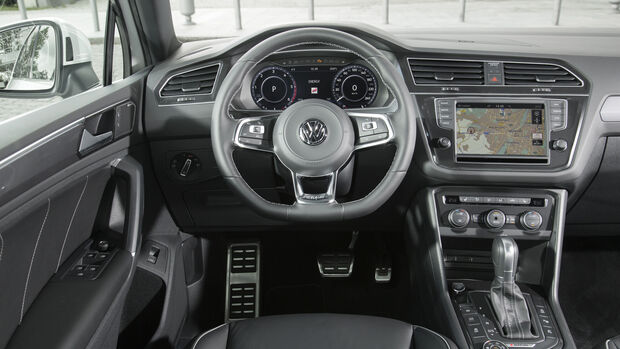 VW Tiguan 2.0 TDI SCR 4Motion, Cockpit
