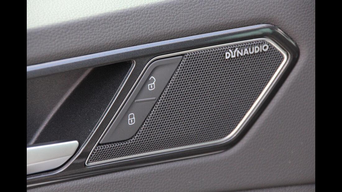 VW Tiguan 2.0 TDI SCR 4Motion, Lautsprecher