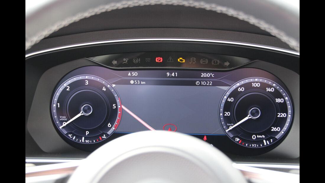 VW Tiguan 2.0 TDI SCR 4Motion, Rundinstrumente