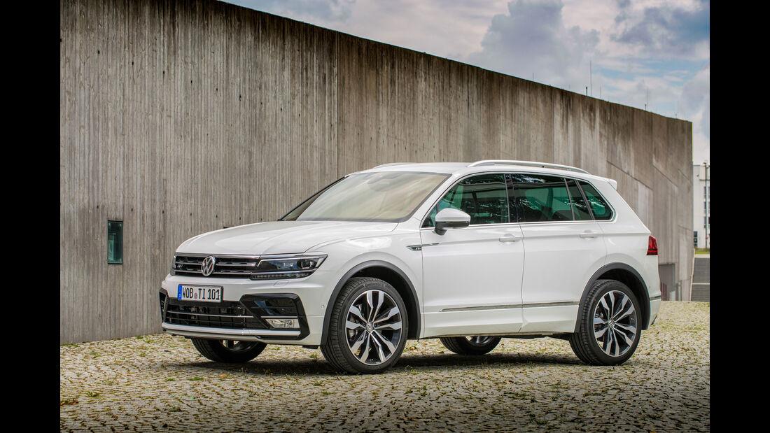 VW Tiguan 2.0 TDI SCR 4Motion, Seitenansicht
