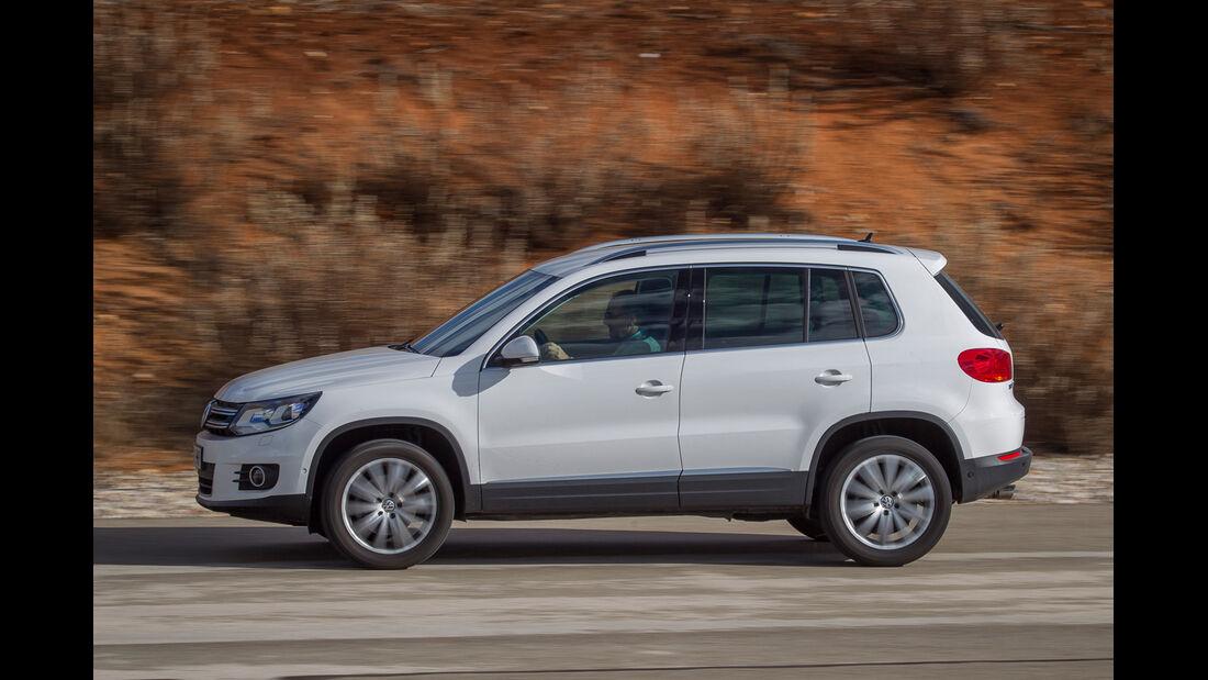 VW Tiguan 2.0 TDI, Seitenansicht
