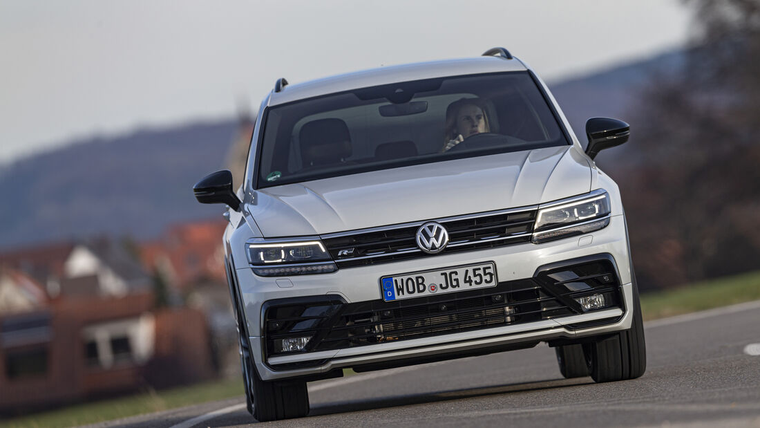 VW Tiguan 2.0 TSI 4Motion, Exterieur