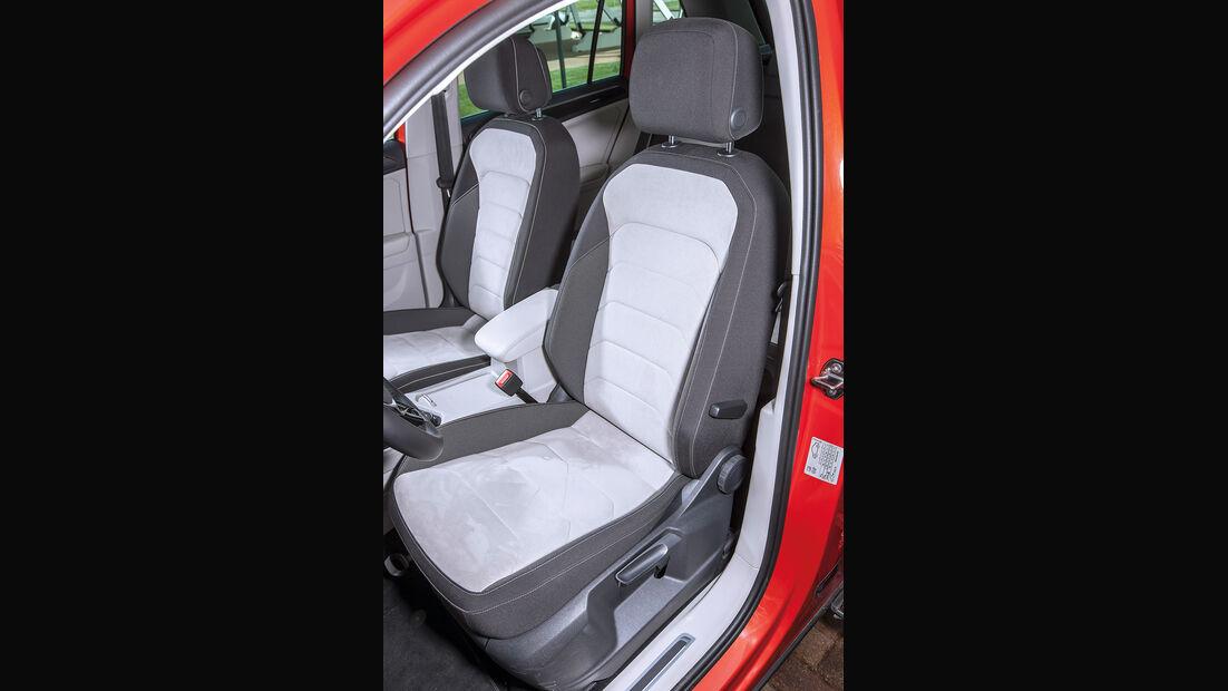 VW Tiguan 2.0 TSI 4Motion, Fahrersitz