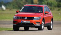 VW Tiguan 2.0 TSI 4Motion, Frontansicht