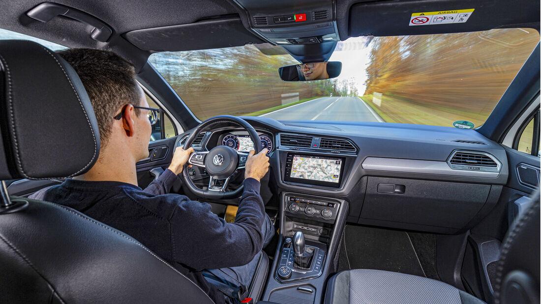 VW Tiguan 2.0 TSI 4Motion, Interieur
