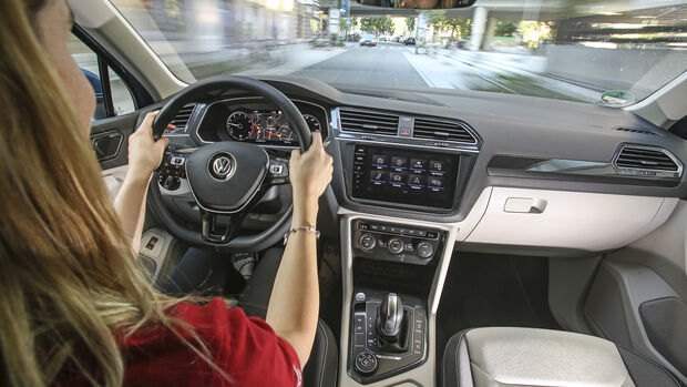 VW Tiguan 2.0 TSI 4Motion, Interieur