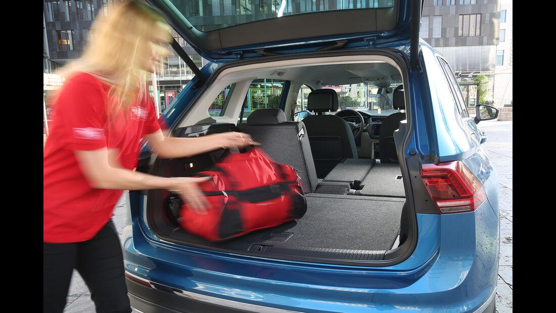 VW Tiguan 2.0 TSI 4Motion, Kofferraum