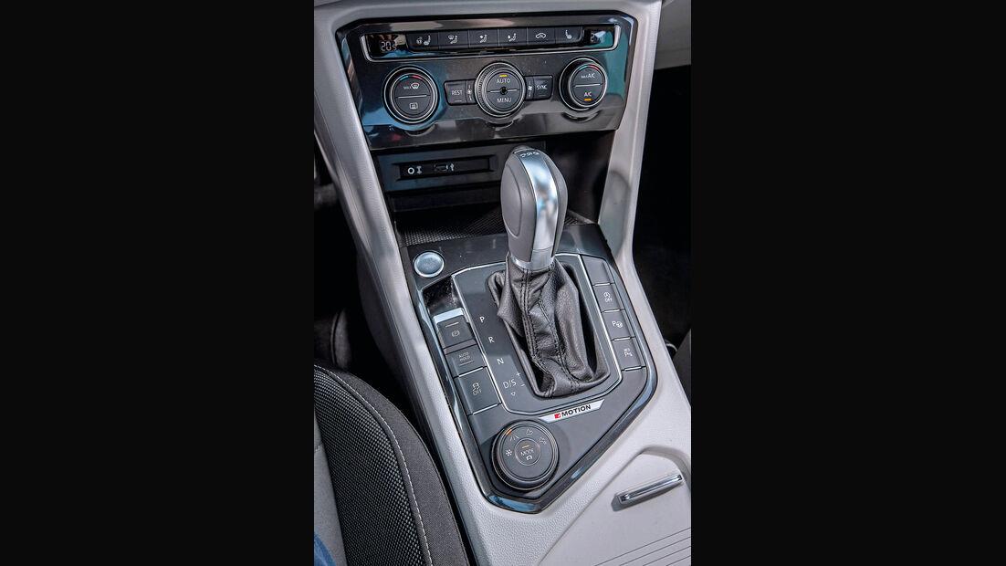 VW Tiguan 2.0 TSI 4Motion, Schalthebel