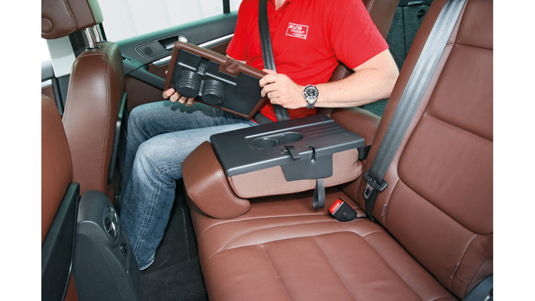 VW Tiguan 2.0 TSI 4motion Sport & Style, Fond, Armlehne