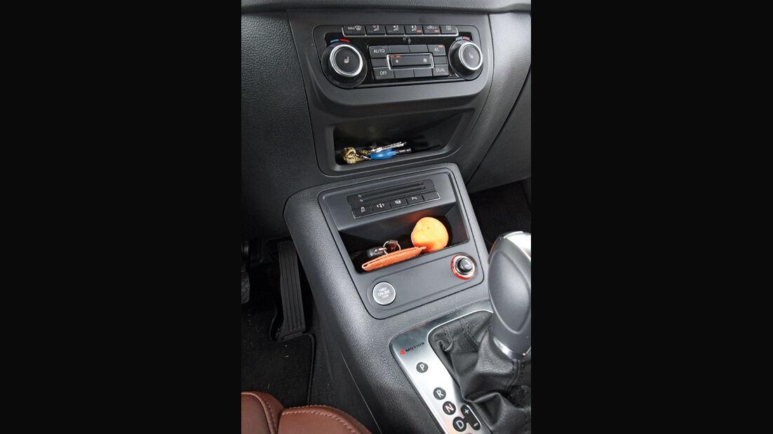 VW Tiguan 2.0 TSI 4motion Sport & Style, Mittelkonsole
