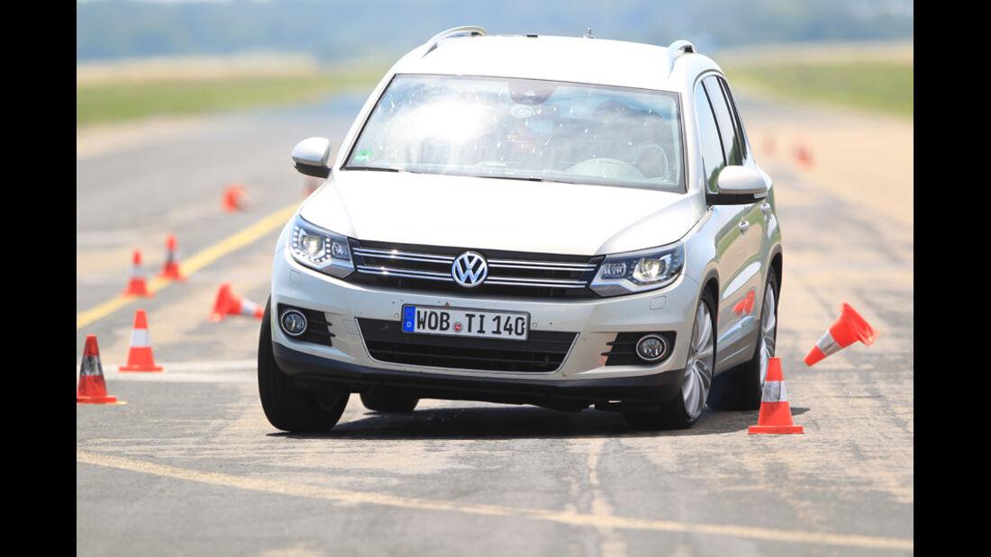VW Tiguan 2.0 TSI 4motion Sport & Style, Pylonen