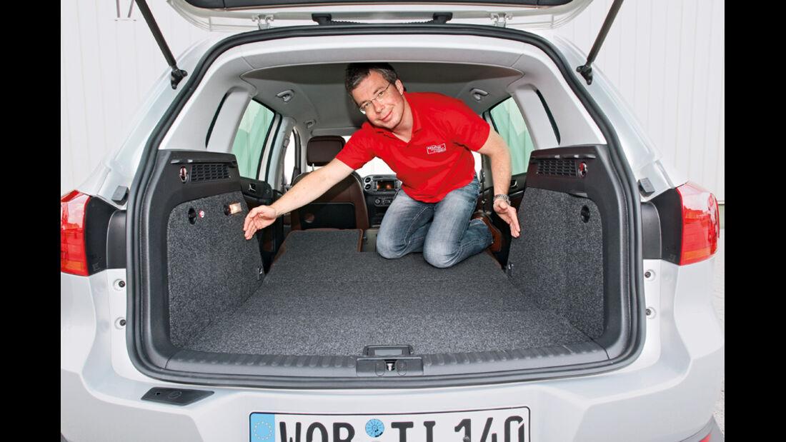 VW Tiguan 2.0 TSI 4motion Sport & Style, Verzurrösen
