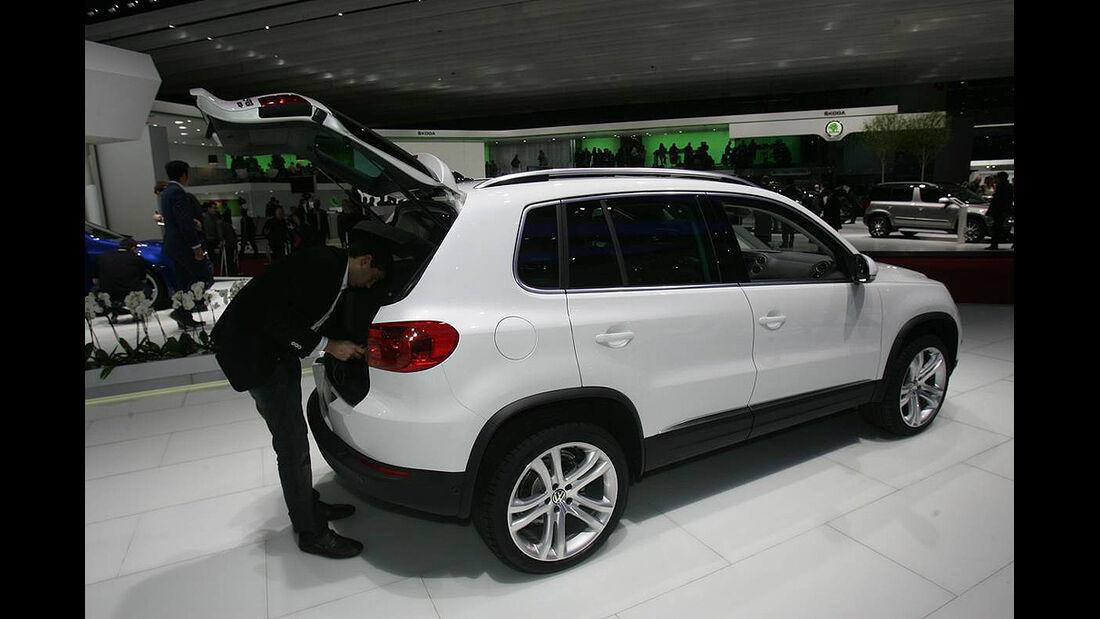 VW Tiguan 2011, Genfer Autosalon