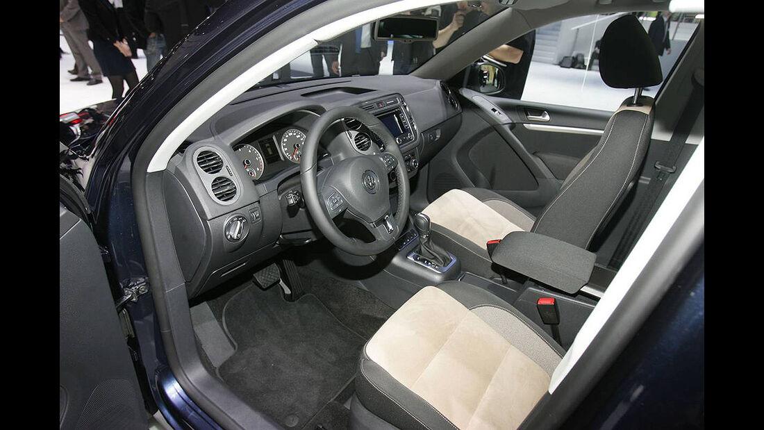 VW Tiguan 2011, Genfer Autosalon, Innenraum