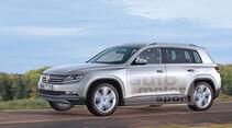VW Tiguan 2015, Retusche