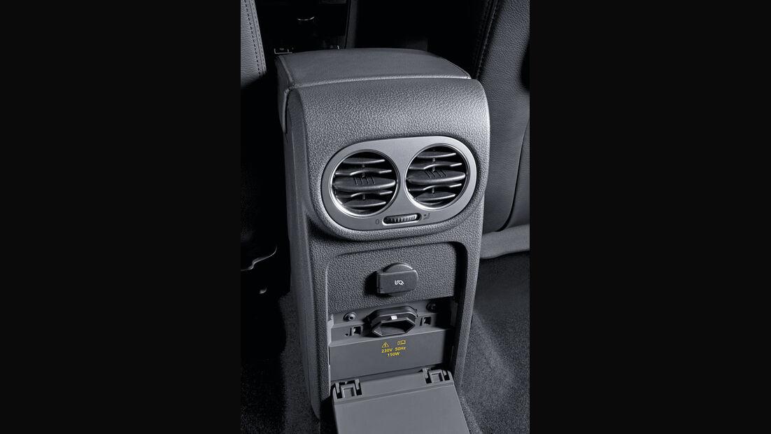 VW Tiguan 230-V-Steckdose