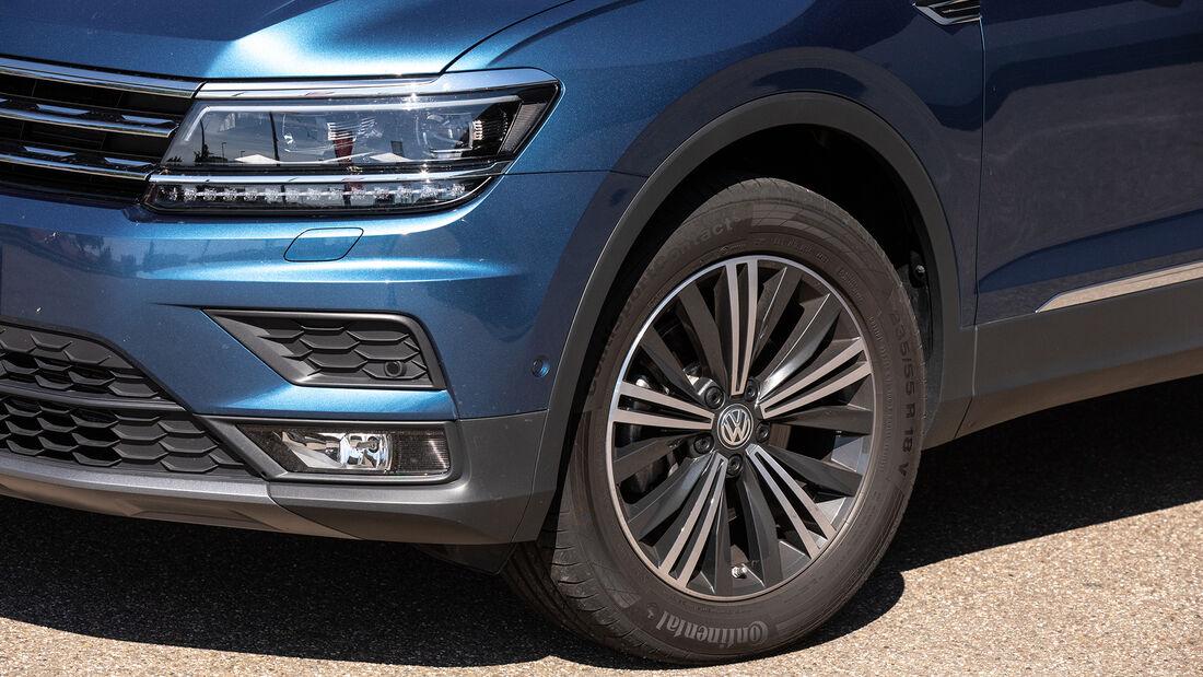 VW Tiguan Allspace 1.5 TSI, Exterieur