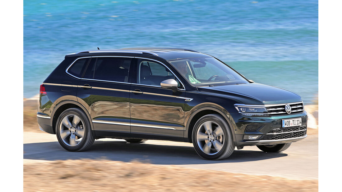 VW Tiguan Allspace, Best Cars 2020, Kategorie K Große SUV/Geländewagen