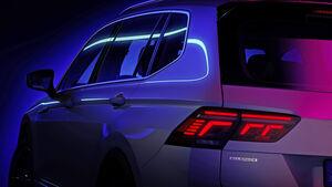 VW Tiguan Allspace Facelift 2021