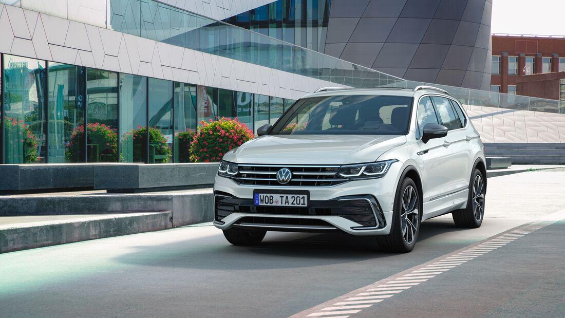 VW Tiguan Allspace Facelift Modelljahr 2021
