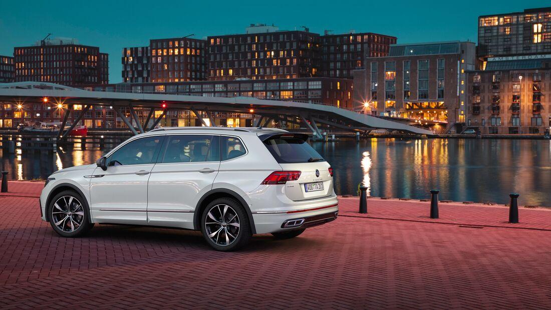 VW Tiguan Allspace (2021): Facelift für Familien-SUV ...