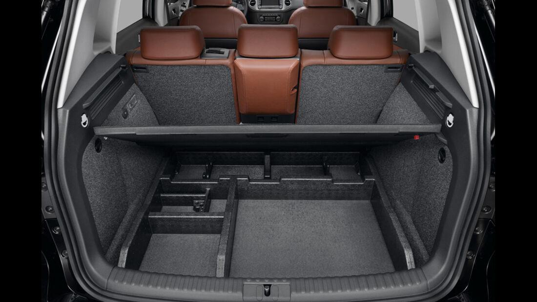 VW Tiguan Doppelter Ladeboden