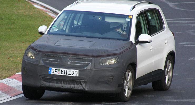VW Tiguan Erlkoenig