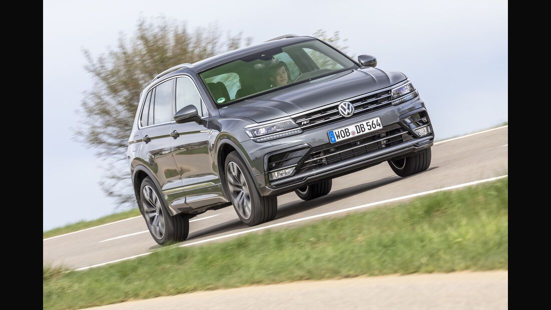 VW Tiguan, Exterieur