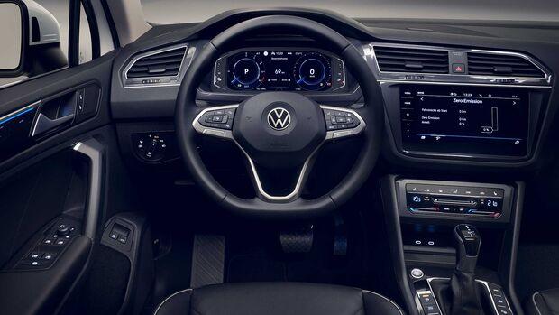 VW Tiguan Facelift (2020) E-Hybrid