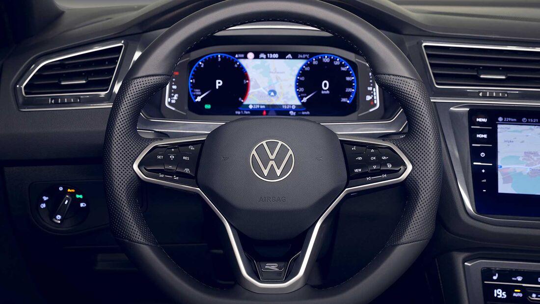 VW Tiguan Facelift (2020) Interieur