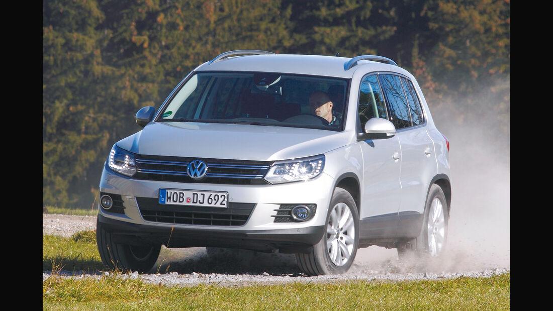VW Tiguan, Frontansicht