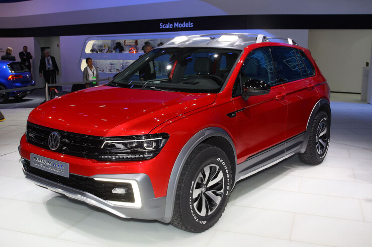 vw tiguan gte active concept suv mit plug in hybrid auto motor und sport. Black Bedroom Furniture Sets. Home Design Ideas