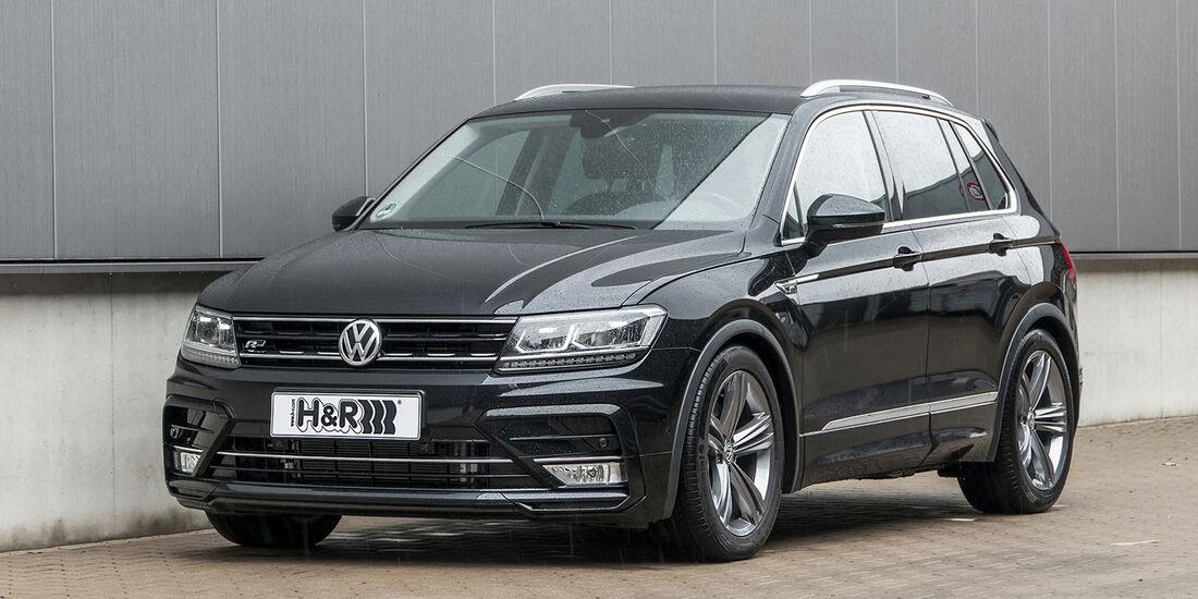 VW Tiguan, H&R, Exterieur