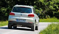 VW Tiguan, Heck