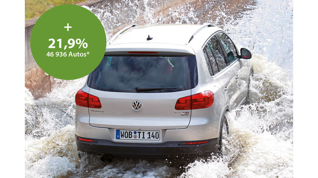 VW Tiguan, Heckansicht
