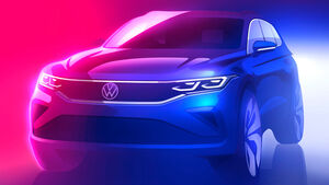 VW Tiguan II Facelift
