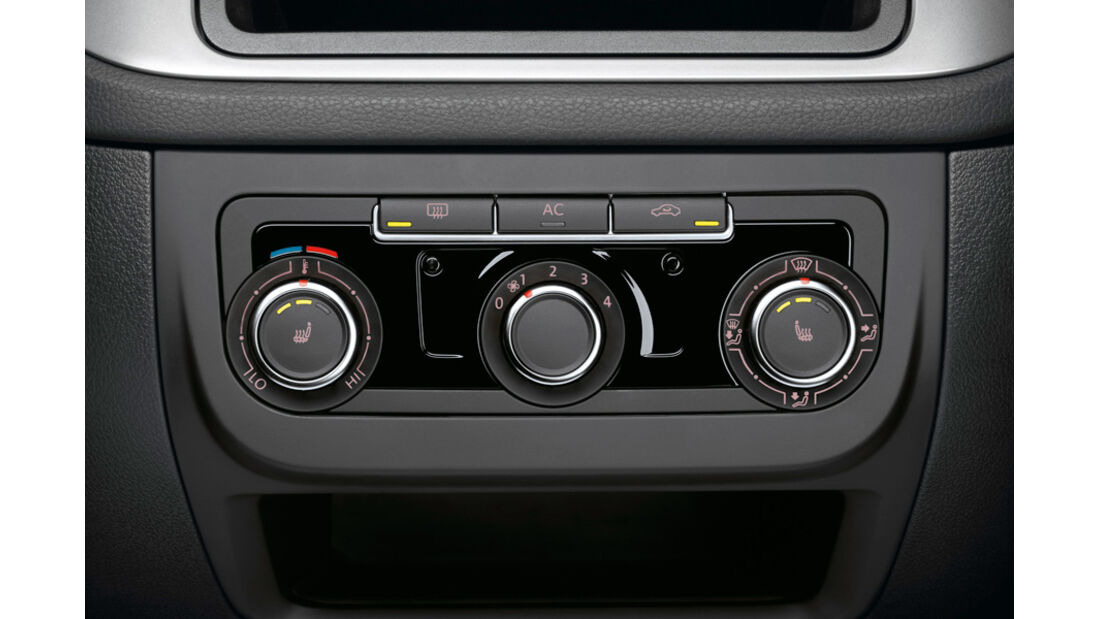 VW Tiguan Klimaautomatik