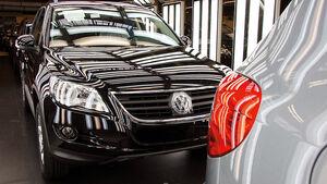 VW Tiguan Modellpflege 2011