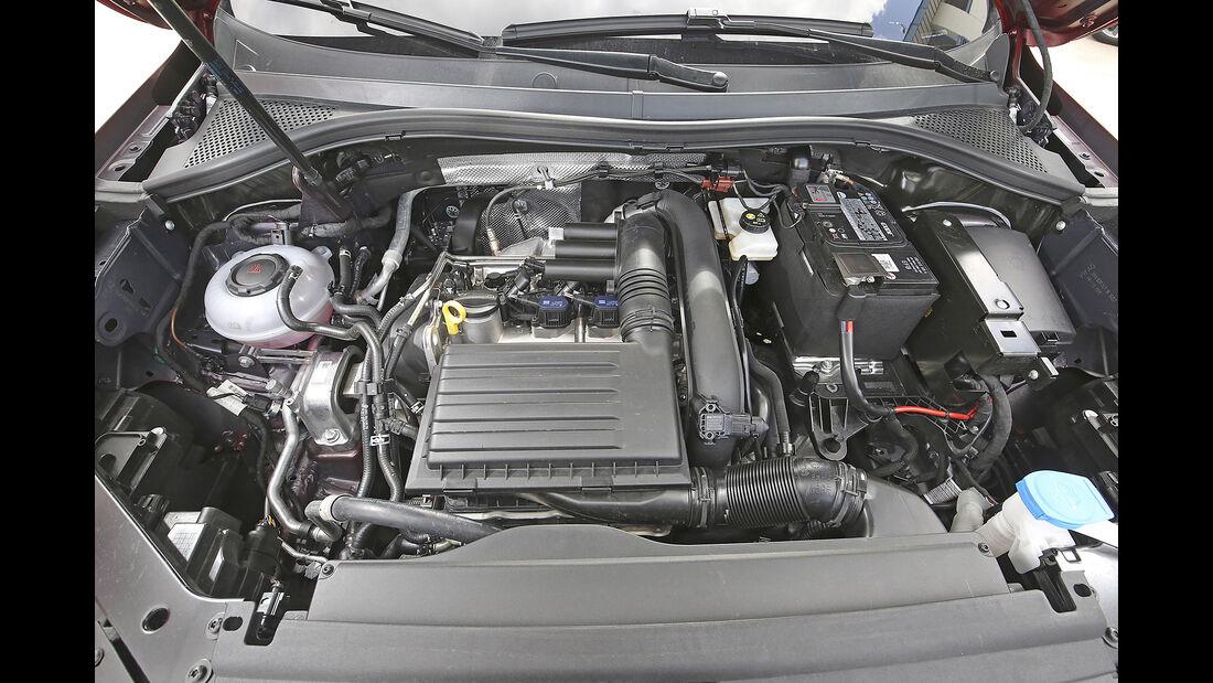 VW Tiguan, Motor