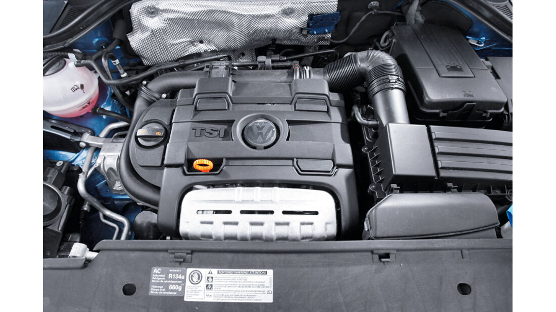 VW Tiguan Motor