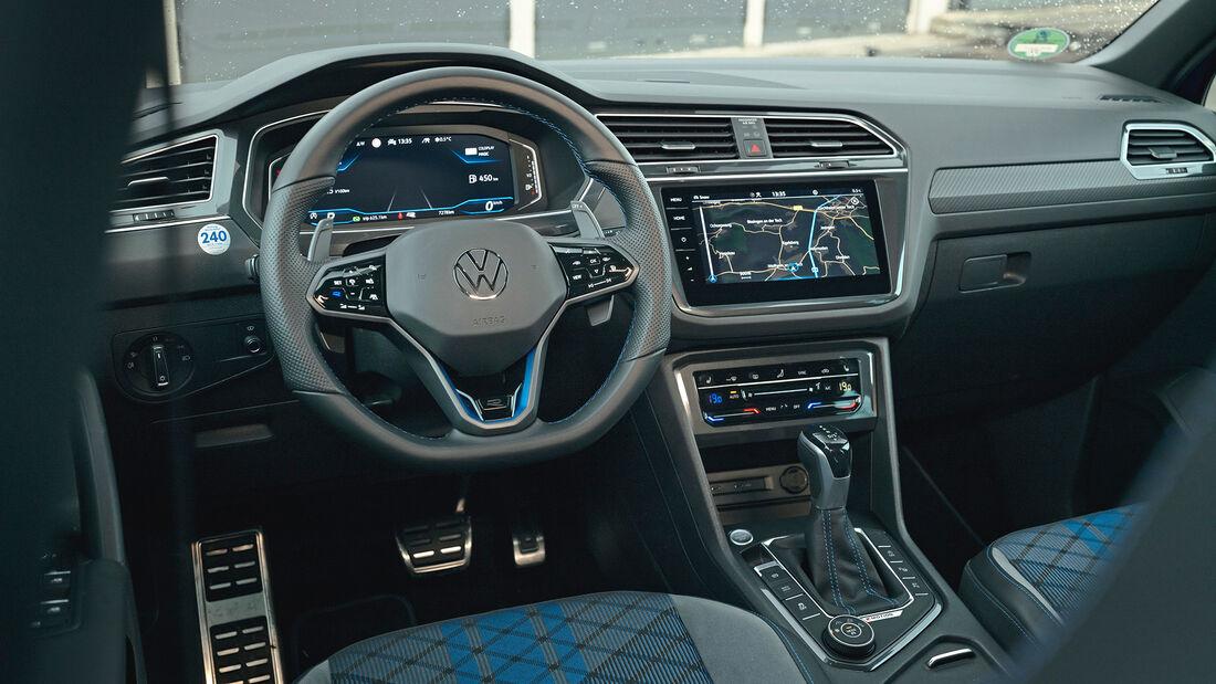VW Tiguan R, Interieur