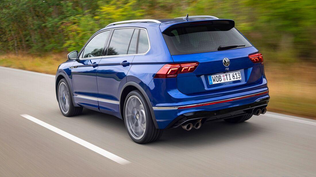 VW Tiguan R MY 2021 Fahrbericht