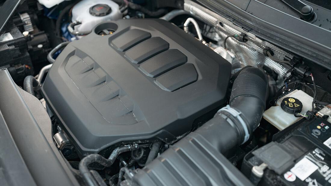 VW Tiguan R, Motor